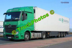 TR-00005 Mercedes Actros Reg:- HRH422 Op:- AGR Logistika
