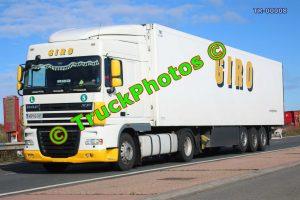 TR-00008 DAF XF Reg:- AB92GIR Op:- Giro