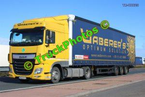 TR-00023 DAF XF Reg:- MSG612 Op:- Waberer's