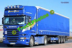 TR-00034 Scania  Reg:- RAST708 Op:- Taplick Trans