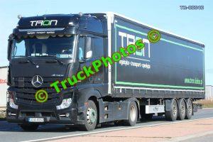 TR-00040 Mercedes Actros Reg:- GDA4GN2 Op:- Tron