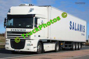 TR-00045 DAF XF Reg:- KXE450 Op:- Salamis
