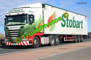 TR-00047 Scania R450 Reg:- PX14SXW Op:- Eddie Stobart