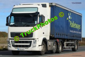 TR-00050 Volvo FH Reg:- GF62UFY Op:- Palletways