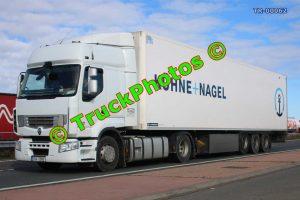 TR-00062 Renault 460 Reg:- 3SA5060 Op:- Kuhne+Nagel