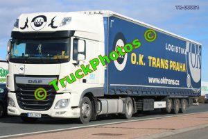 TR-00064 DAF XF Reg:- 3SH0276 Op:- OK Trans Praha