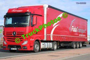 TR-00065 Mercedes Actros Reg:- 4AB4634 Op:- Fiala Transport