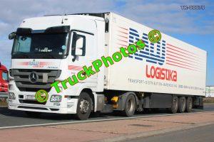 TR-00079 Mercedes Actros Reg:- KT551DO Op:- RAW Logistika