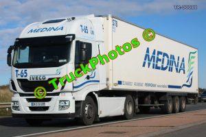 TR-00088 Iveco Stralis Reg:- DM319GB Op:- Medina