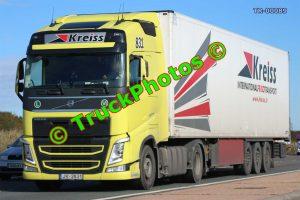 TR-00089 Volvo FH Reg:- JV2831 Op:- Kreiss