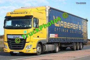 TR-00093 DAF XF Reg:- MSG496 Op:- Waberer's