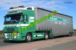TR-00097 Volvo FH Reg:- LU11800 Op:- M Brunner Transport