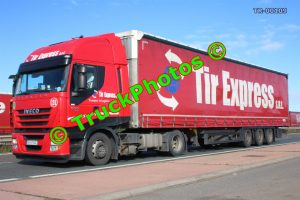 TR-00109 Iveco Stralis Reg:- B43NOZ Op:- TIR Express