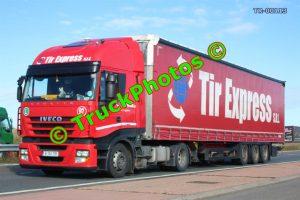 TR-00113 Iveco Stralis Reg:- B132TIR Op:- TIR Express