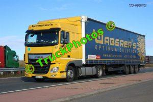 TR-00127 DAF XF Reg:- MWV948 Op:- Waberer's