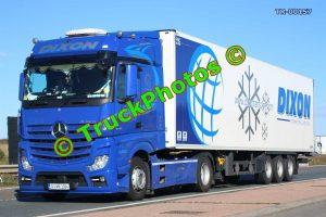 TR-00157 Mercedes Actros Reg:- 141MH2084 Op:- Dixon