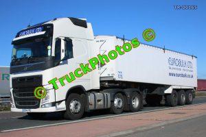 TR-00165 Volvo FH Reg:- GF14YYE Op:- Euro Bulk
