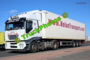 TR-00195 Iveco Stralis Reg:- 06WX2535 Op:- Nolan Transport