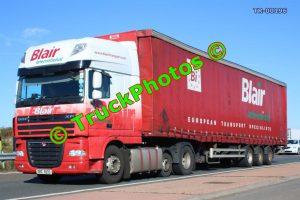 TR-00196 DAF XF Reg:- DRZ8205 Op:- Blair International