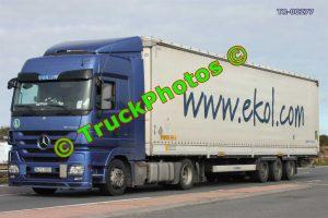TR-00277 Mercedes Actros Reg:- 34FL9933 Op:- Ekol