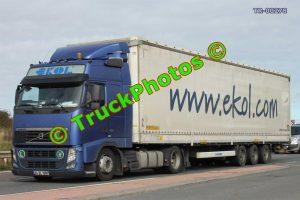 TR-00278 Volvo FH Reg:- 34DL1087 Op:- Ekol