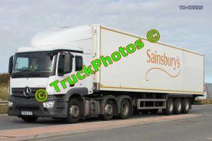 TR-00295 Mercedes Actros Reg:- YN64WJF Op:- Sainsbury's
