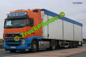 TR-00298 Volvo FH Reg:- 1DCT076 Op:- Van De Mierop