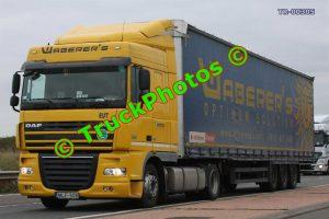TR-00305 DAF XF Reg:- MLF508 Op:- Waberer's