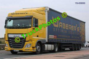 TR-00328 DAF XF Reg:- MWW165 Op:- Waberer's