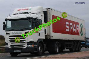 TR-00333 Scania G400 Reg:- WC63AFB Op:- Spar