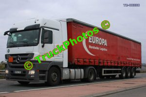 TR-00338 Mercedes Actros Reg:- GFA101 Op:- Europa