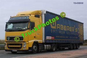 TR-00345 Volvo FH Reg:- MJX412 Op:- Waberer's