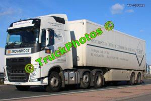 TR-00348 Volvo FH Reg:- YL15UMU Op:- CBT Limited