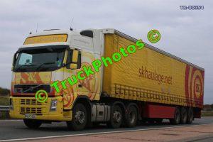 TR-00354 Volvo  Reg:- GL07OGC Op:- SK Haulage