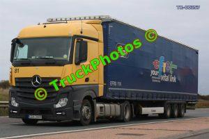 TR-00357 Mercedes Actros Reg:- GDA2KK9 Op:- Efret