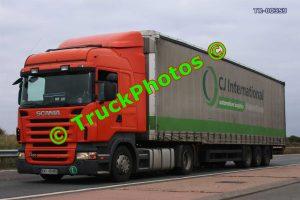 TR-00359 Scania R420 Reg:- KWI48485 Op:- CJ International