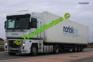 TR-00367 Renault  Reg:- T3246TH Op:- Norfolkline