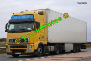 TR-00373 Volvo FH Reg:- VS21ADT Op:- Adrian Trans