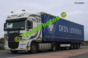 TR-00382 DAF XF Reg:- KR436UG Op:- DFDS Logistics