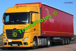 TR-00392 Mercedes Actros Reg:- 45QI57 Op:- Patinter