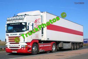 TR-00393 Scania  Reg:- 12LM111 Op:- O'Sullivans