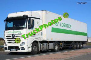 TR-00399 Mercedes Actros Reg:- BJ63AVV Op:- HSF Logistics