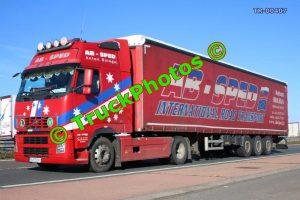 TR-00407 Volvo FH Reg:- PU755AV Op:- AB Sped