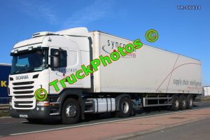 TR-00414 Scania R440 Reg:- 131D18344 Op:- Syncreon