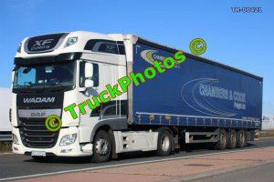 TR-00421 DAF XF Reg:- ST3373G Op:- Chambers & Cook