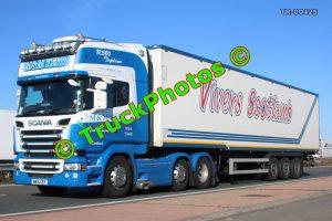 TR-00425 Scania R580 Reg:- MM15KER Op:- Vivers Scotlamb