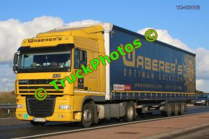 TR-00442 DAF XF Reg:- MLG212 Op:- Waberer's