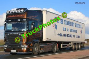 TR-00443 Scania R560 Reg:- M88WTS Op:- Whites Transport Services