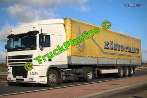 TR-00465 DAF XF Reg:- AA0089 IH Op:- Konig-Trans