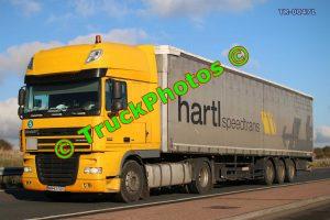 TR-00471 DAF XF Reg:- MM63SSS Op:- Hartl Speedtrans